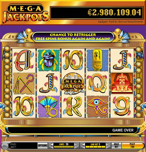 Play Cleopatra Slots at Kerching Casino!