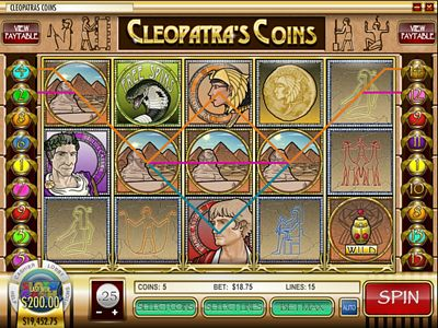 Play Cleopatra's Coins